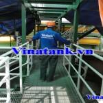 Bọc phủ FRP bồn chứa axit